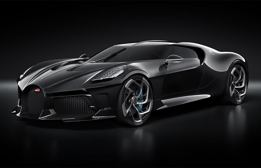 Bugatti La Voiture Noire A Modern Interpretation Of