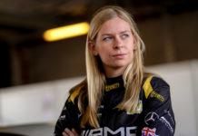 Christina Nielsen STRAKKA Racing Mercedes-AMG GT3