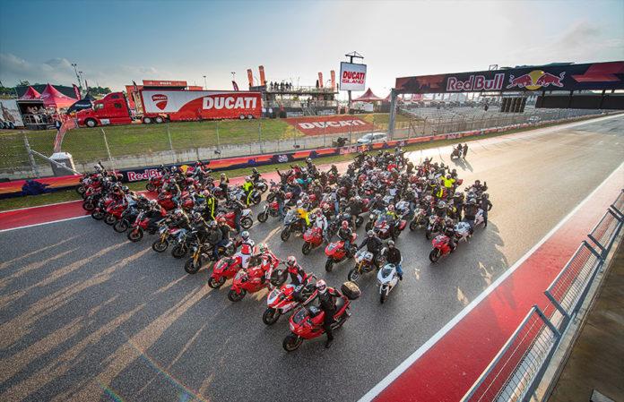 Ducati Island at 2019 MOTOGP COTA