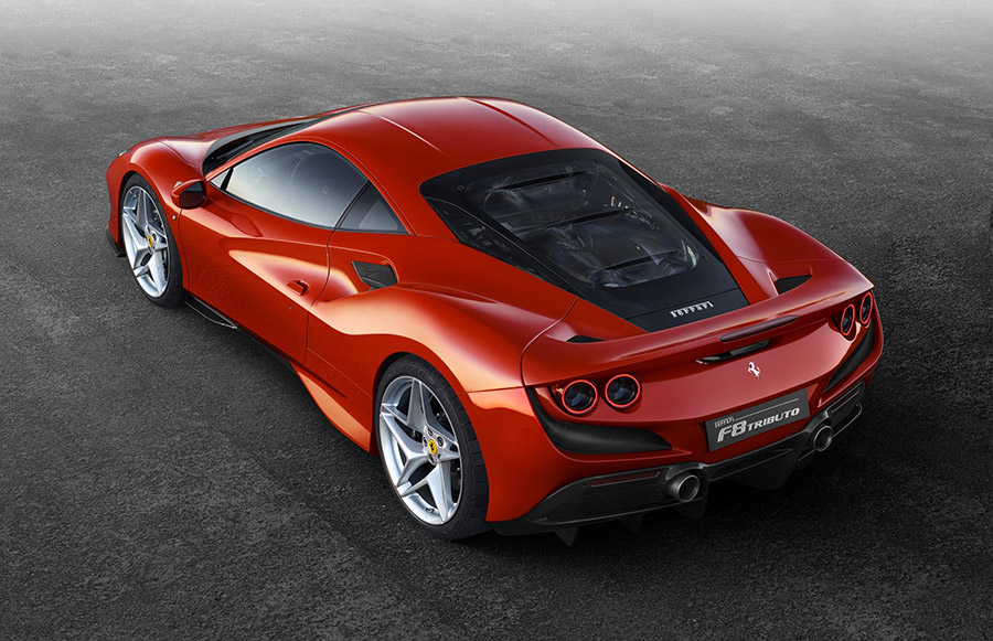 Ferrari F8 Tributo Debut Geneva Motor Show