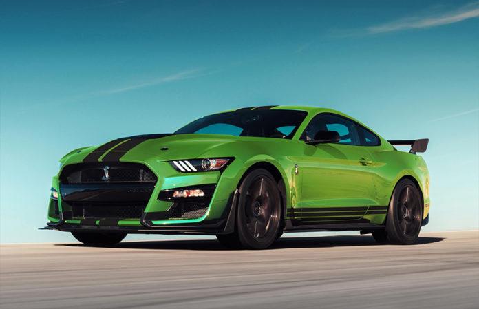 Grabber Lime 2020 Ford Mustang