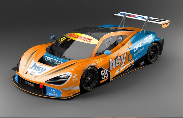 McLaren 720S GT3 59Racing Geneva Motor Show