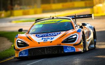 McLaren 720S GT3 victory in Melbourne