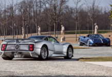 Pagani Automobili Zonda Anniversary Geneva Motor Show