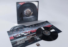 Porsche 919 Vinyl Record The 24 Minutes of Le Mans
