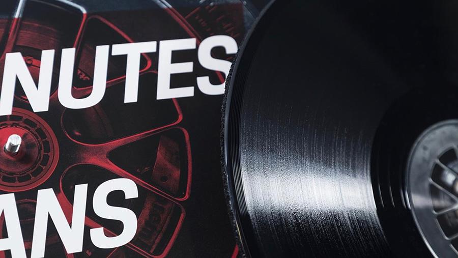 Porsche 919 Vinyl Record The 24 Minutes of Le Mans