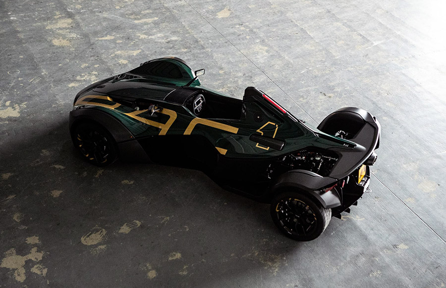 100th BAC Mono Supercar