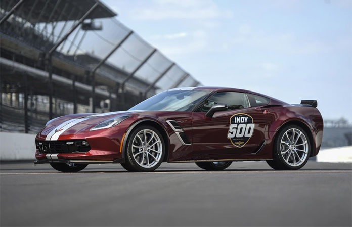 2019 Corvette Grand Sport Indy 500 Pace Car