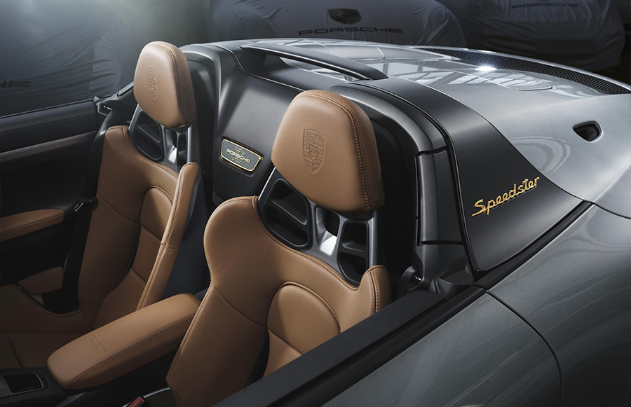 2019 Porsche 911 Speedster Heritage Design Package
