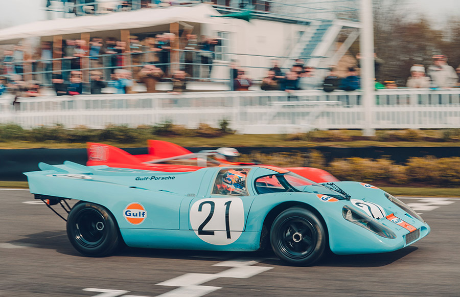 50 Years of Porsche 917 Celebrated at Goodwood