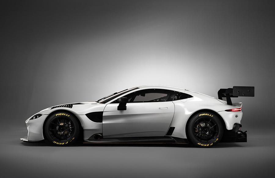 Aston Martin Vantage GT3 Blancpain Debut