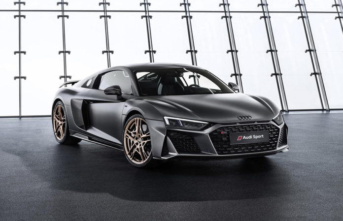 Audi R8 V10 Decenium New York International Auto Show