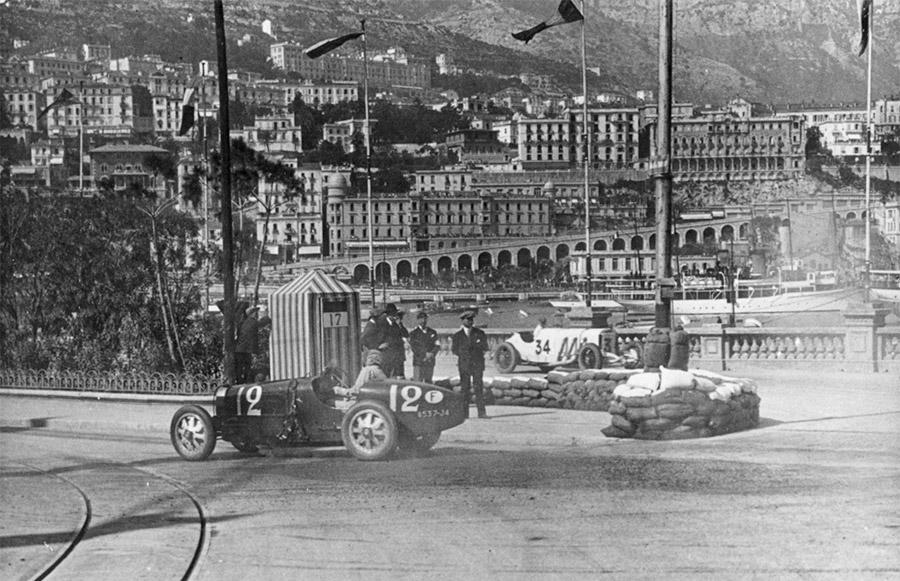 Bugatti won the First Grand Prix in Monaco in 1929