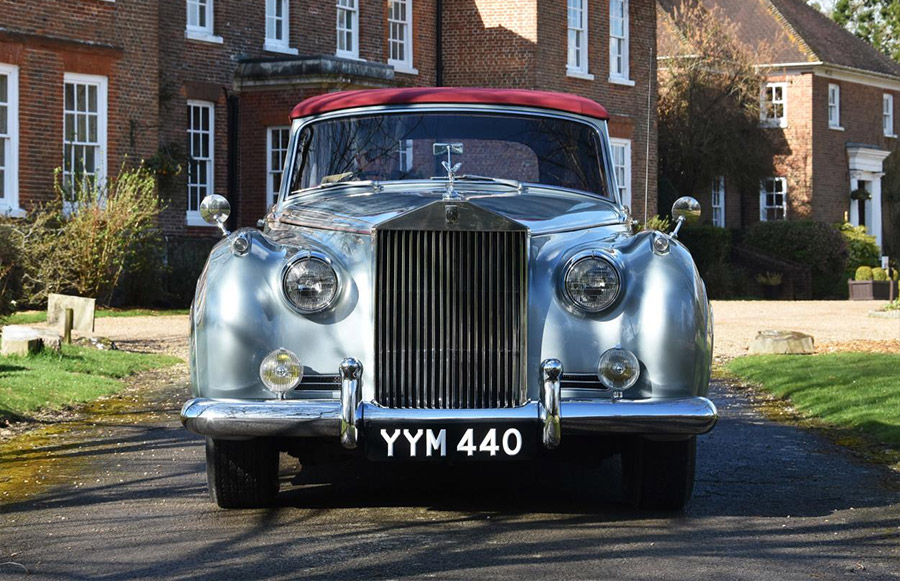 DM Historics 1960 Rolls-Royce Silver Cloud II Drophead Coupe