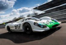 First Porsche 917 Restored
