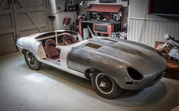 Jaguar Restorations at British Marques Sale