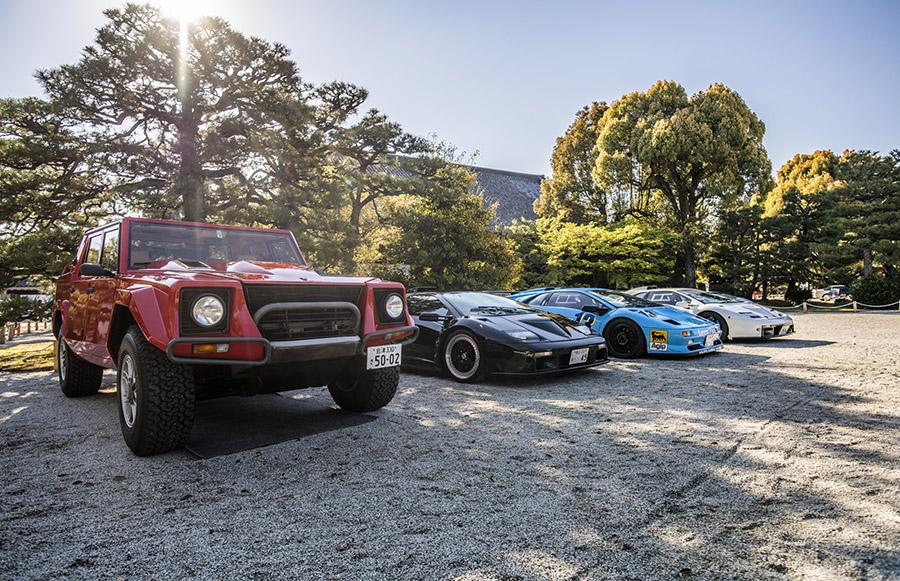 Lamborghini Polo Storico Concorso d'Eleganza Kyoto 2019