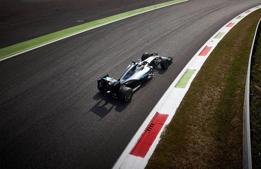 Lewis Hamilton F1 Car at Sonoma Speed Festival