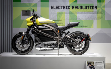 Petersen Automotive Museum Electric Motorcycle Exhibit