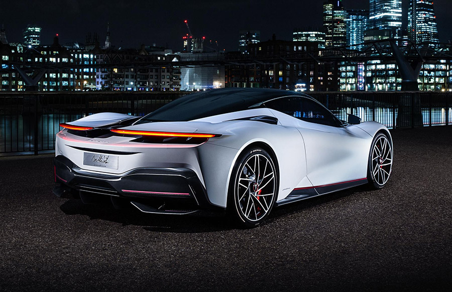Pininfarina Battista London Debut