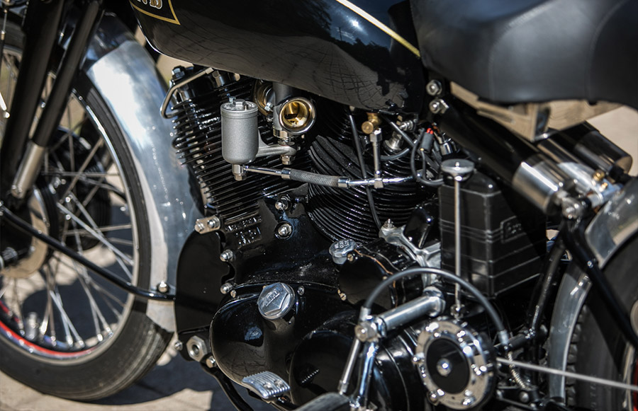 1951 Vincent Black Shadow Series C Silverstone Auctions