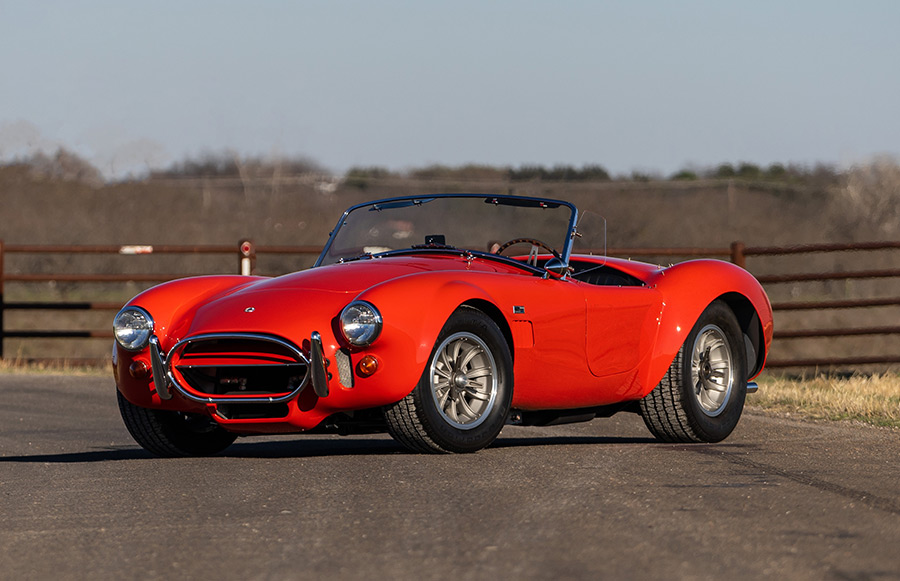 Three Of Carroll Shelby's Legendary Cobras Featured at