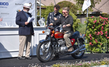 1969 Honda CB750 Sandcast Best of Show The Quail Motorcycle Gathering
