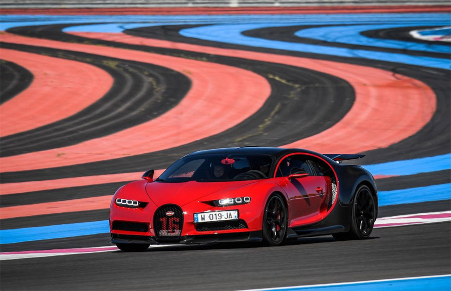 Bugatti to test Chiron and Chiron Sport on Paul Ricard Circuit