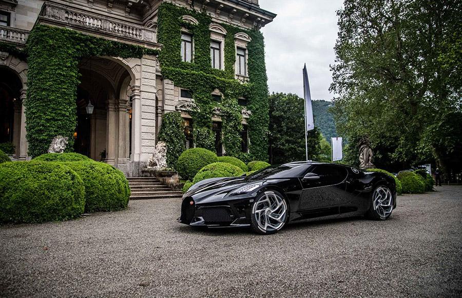 Bugatti La Voiture Noire Wins Design Award at the Villa d'Este