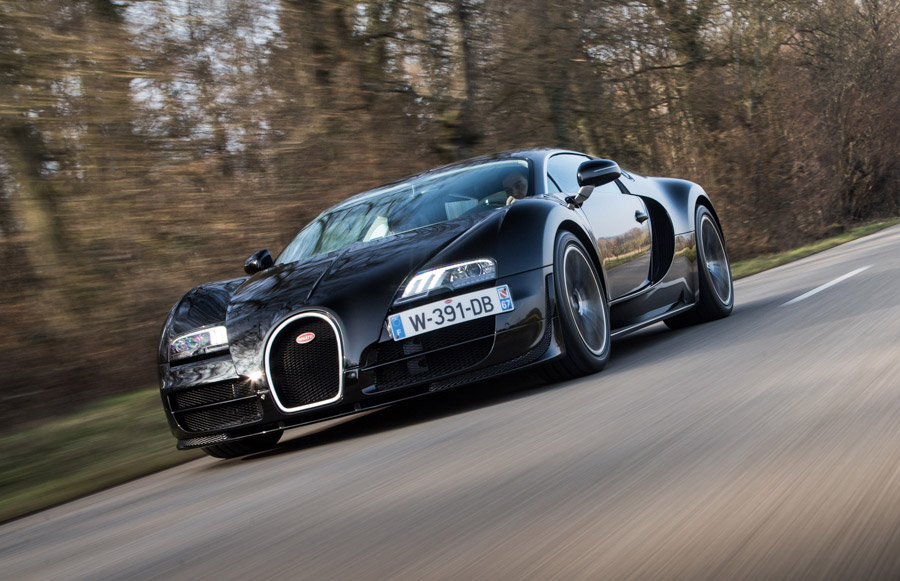 Bugatti Veyron Hyper Sports Car 1