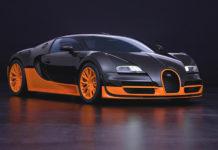 Bugatti Veyron Hyper Sports Car 7