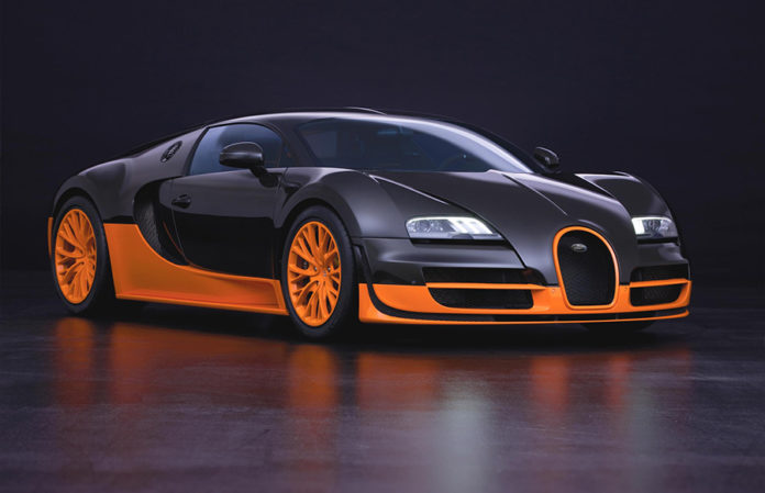 Bugatti Veyron Hyper Sports Car 7