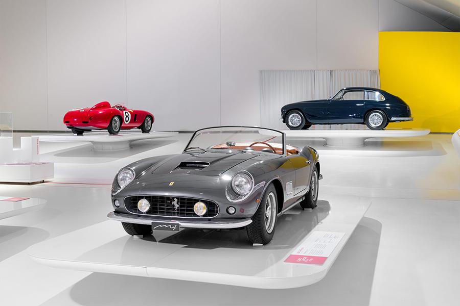 "Enzo Ferrari Museum ""Timeless Masterpieces"" exhibition"