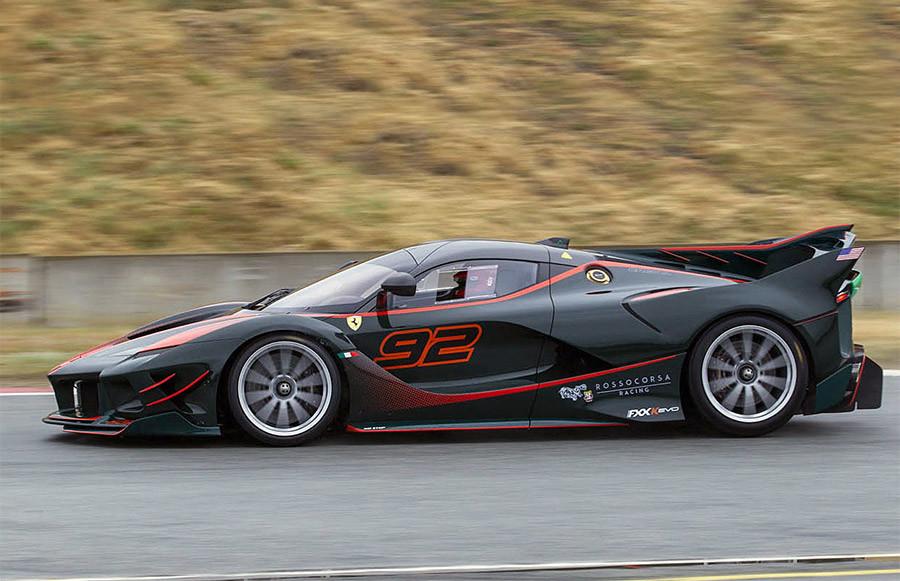 Ferrari xx Ferrari Challenge Weathertech Raceway Laguna Seca