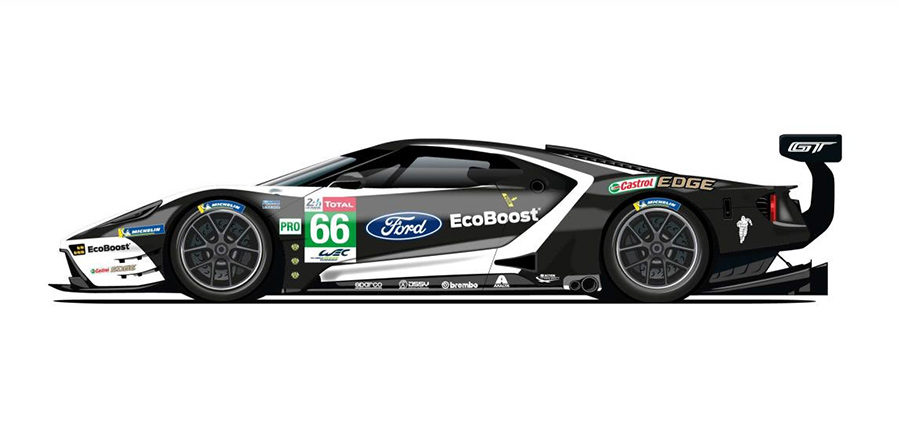 Ford Le Mans Liveries