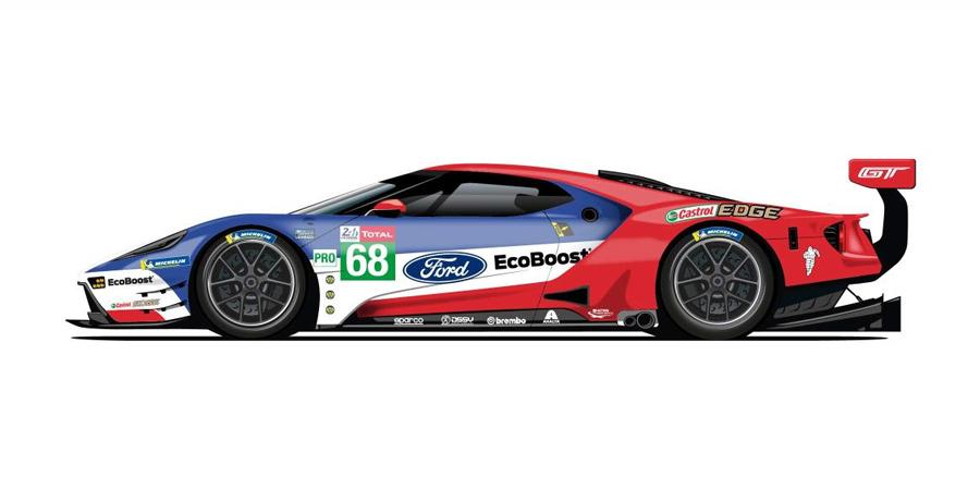Ford Le Mans Liveries