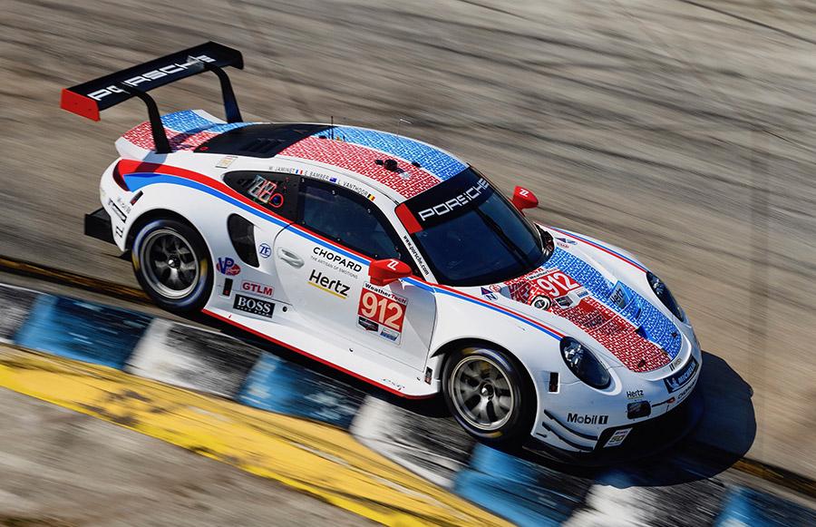 Porsche 911 RSR Le Mans Liveries 4