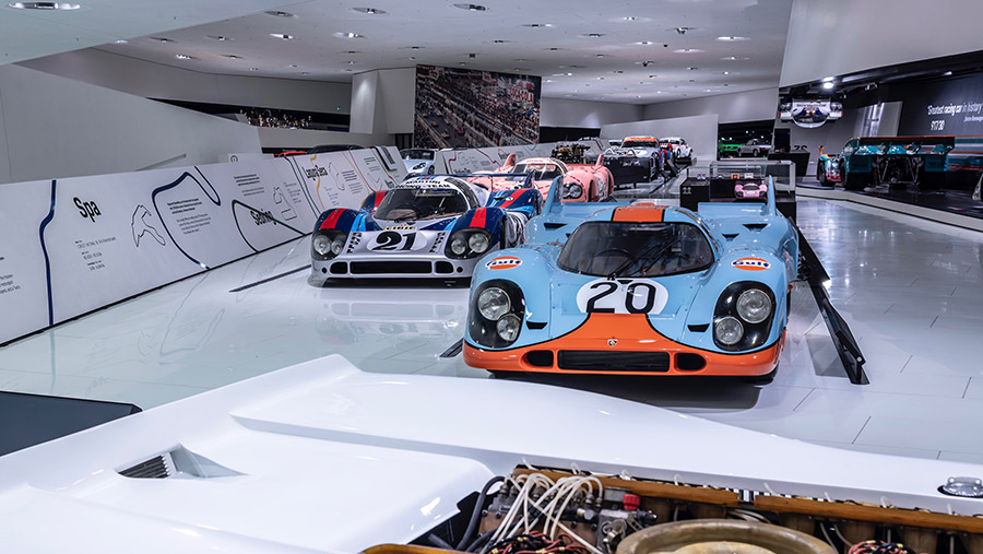 50 years of the porsche 917 colours of speed exhibition