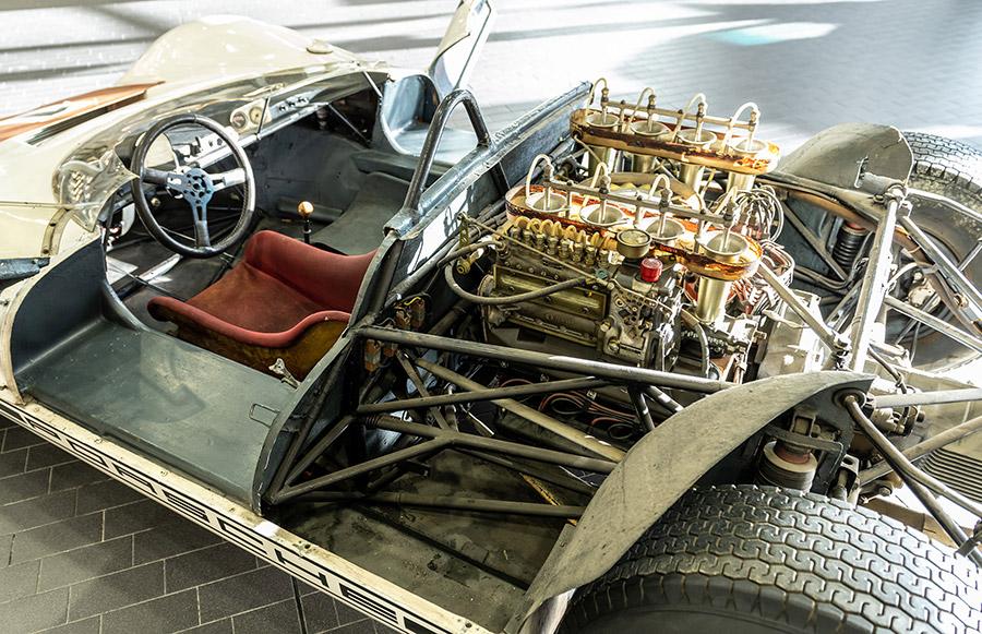 Porsche Museum Bergspyder Preservation
