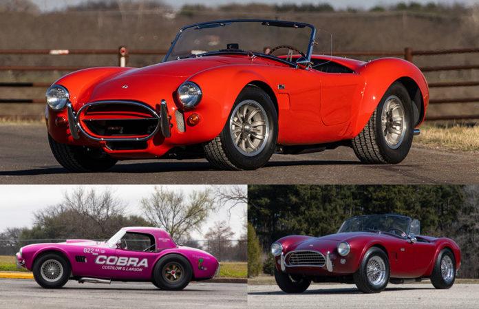 Shelby Cobra Mecums Original Spring Classic