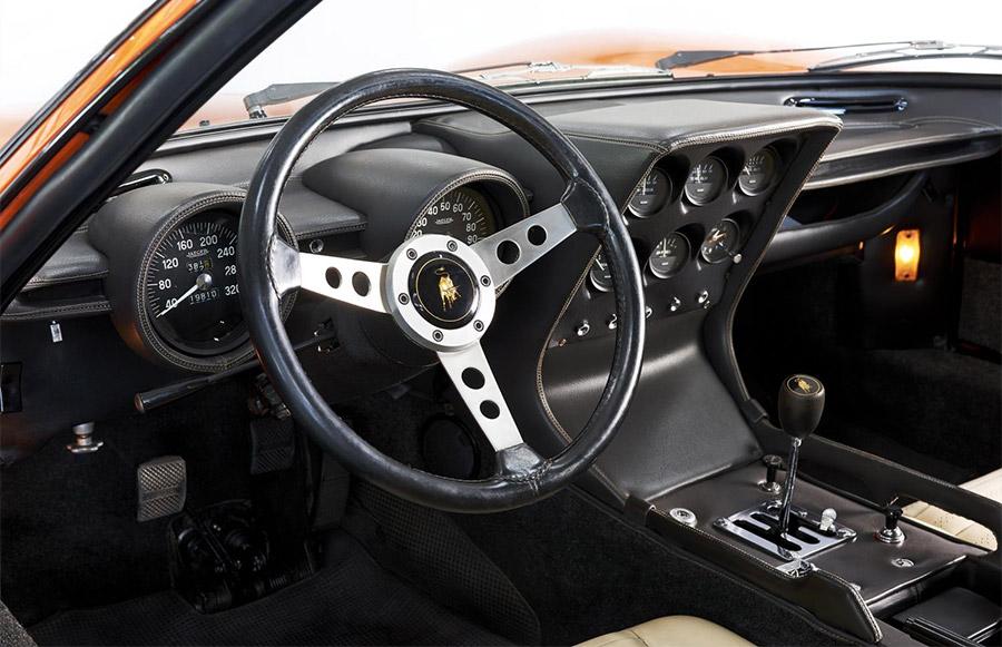The Italian Job Lamborghini Miura P400