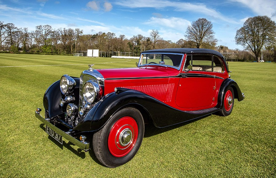 1937 Bentley 4 1/4 Sports Coupe for sale