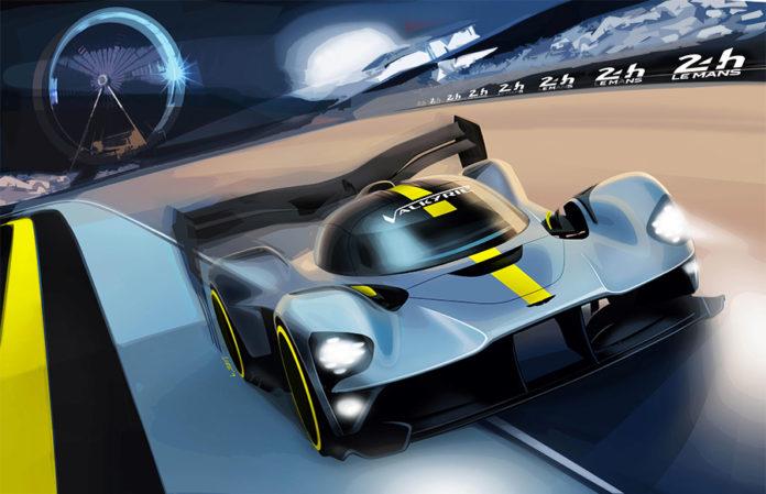2020 Aston Martin Valkyrie FIA WEC Race Car