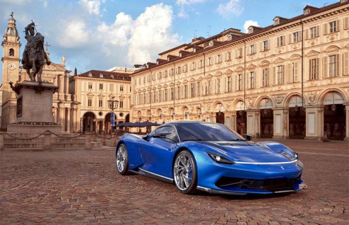 Automobili Pininfarina Battisa at the Turin Auto Show 1
