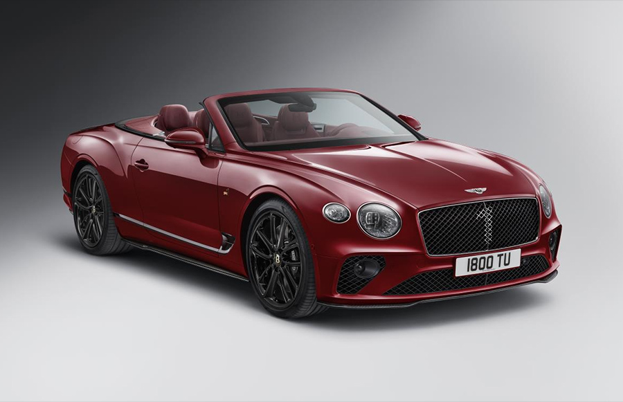 Bentley Continental GT Convertible Number 1 Edition by Mulliner 2