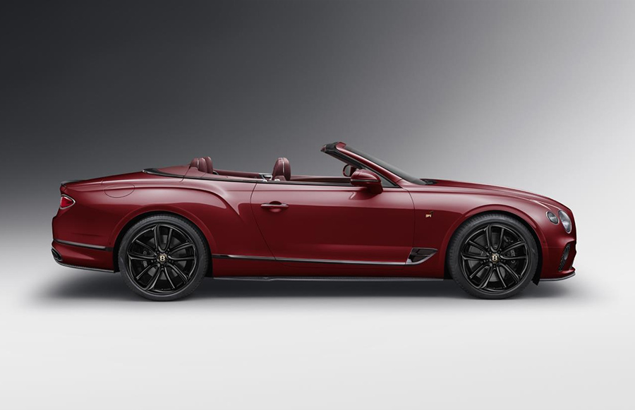 Bentley Continental GT Convertible Number 1 Edition by Mulliner 3