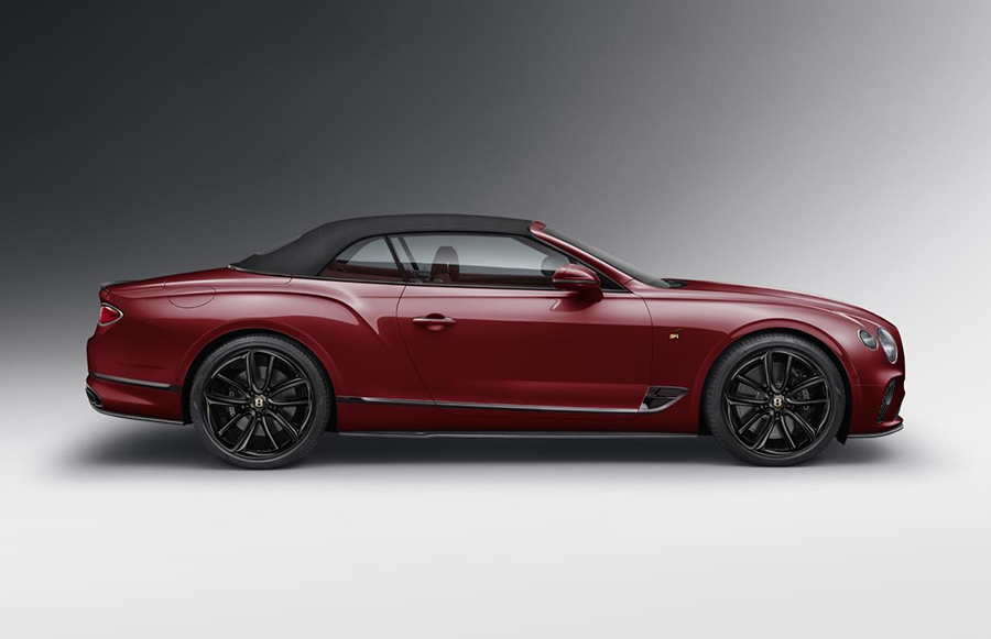 Bentley Continental GT Convertible Number 1 Edition by Mulliner 4