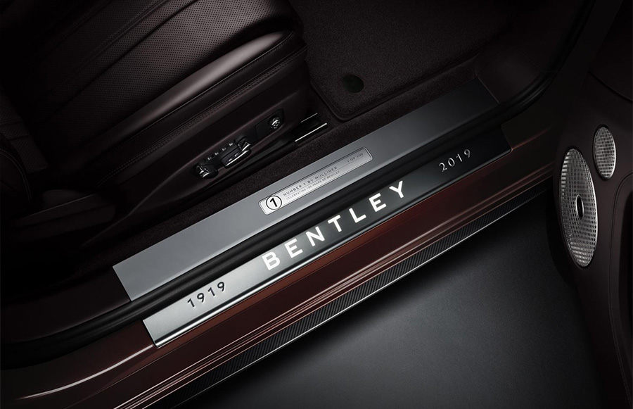 Bentley Continental GT Convertible Number 1 Edition by Mulliner 5