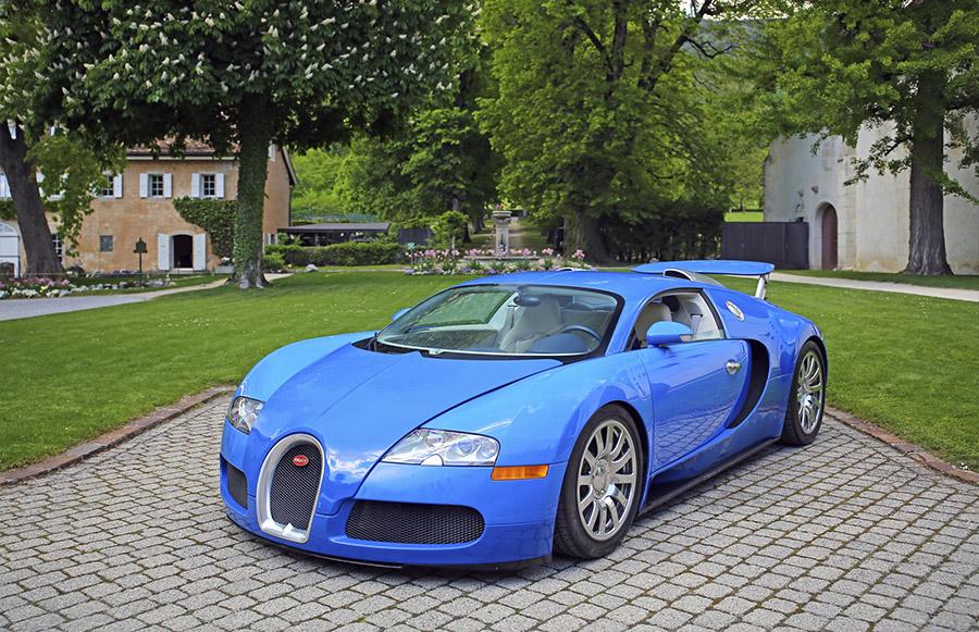 Bonhams Switzerland Sale Bugatti Veyron