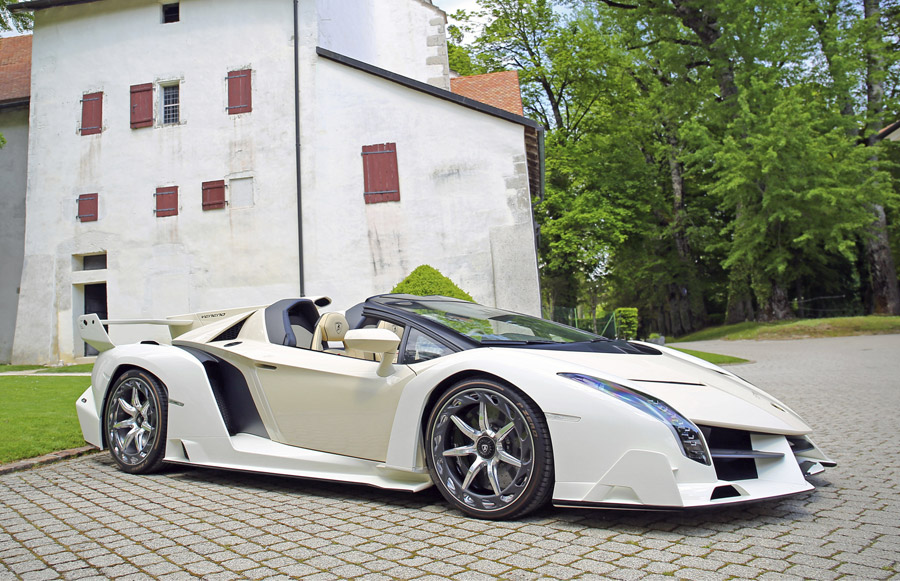 Bonhams Switzerland Sale Lamborghini Veneno